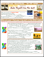 Sunday School Activity Sheet
