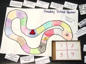 Sunday School Review game